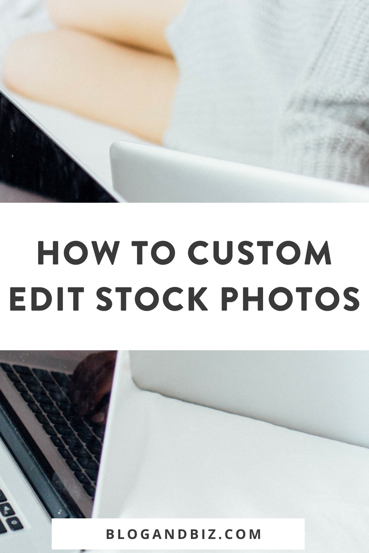 How to Custom Edit Styled Stock Photos for Your Blog and Branding. This is a great guide for beginner bloggers on how to use custom styled stock photos! These are great blog tips! Click through to read all about how to use stock photos!  #blogging, #blogtips, #stockphotos, #blogandbiz, #branding, #socialmediatips