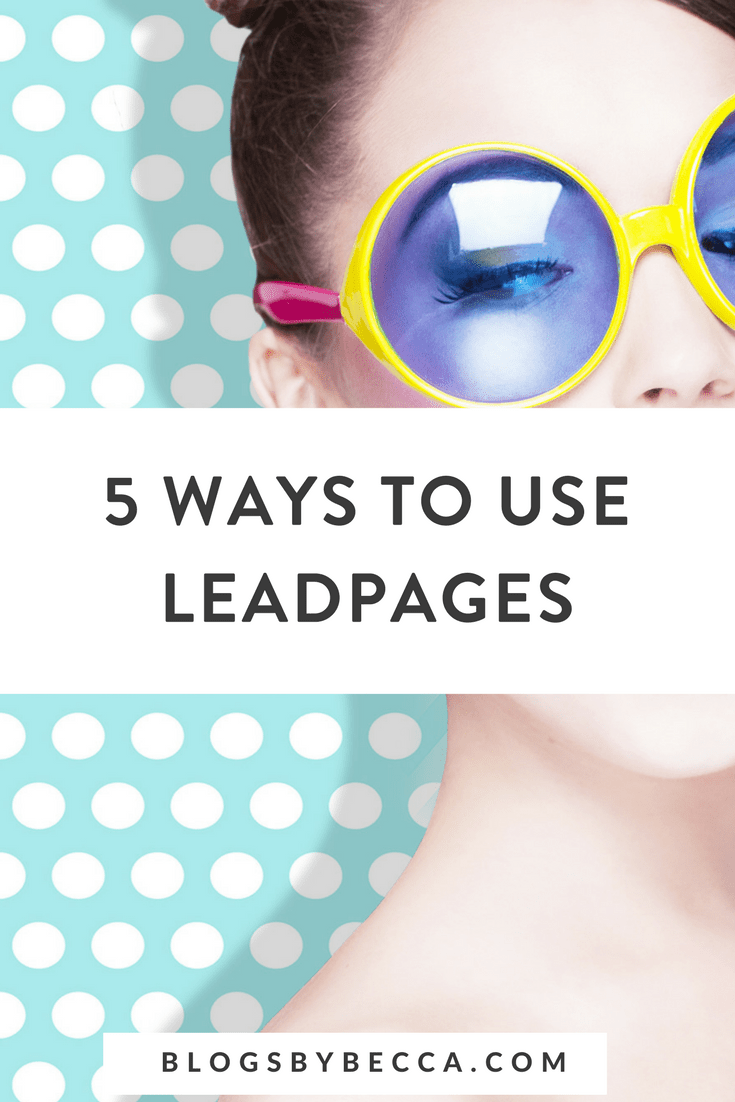 8 Easy Facts About How To Use Leadpages Explained