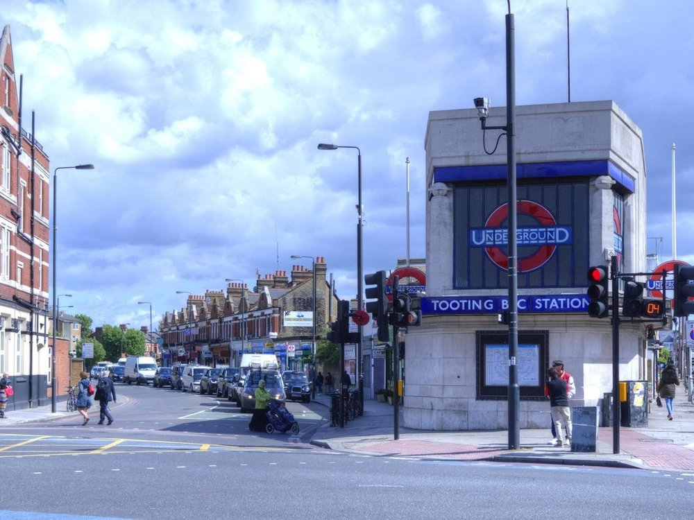 Tooting Bec, London -