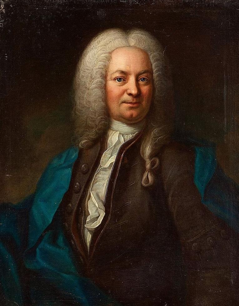 Johan Jacob Döbelius  (Målning av Johan Henrik Scheffel)