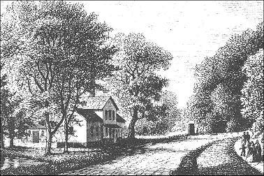 Det första badhuset, byggt 1856