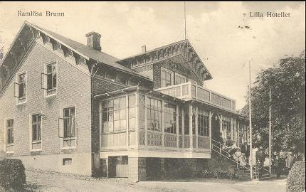 Det nu nedlagda Ramlösa Värdshus hette tidigare Lilla Hotellet
