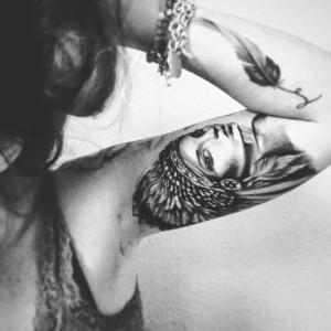 Pocahontas-Feeling auf meiner Haut :)