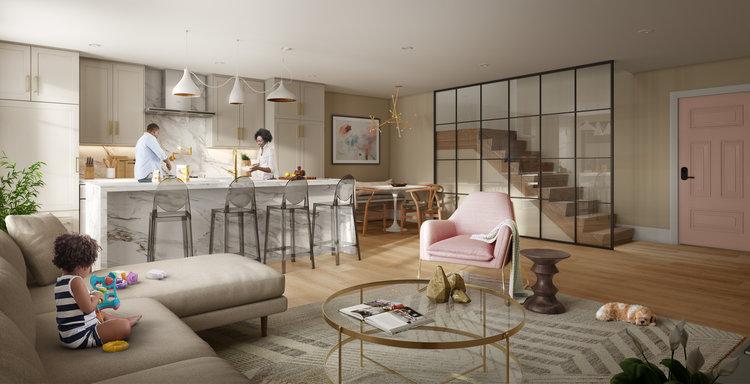 Location - LIV Condominiums are located in the vibrant Queen Village neighborhood of Philadelphia.
