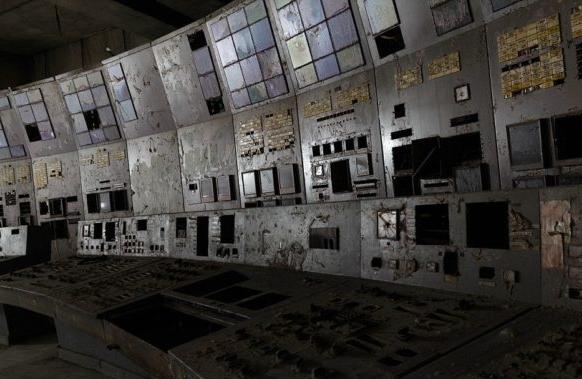 Controll Room Reactor No. 4