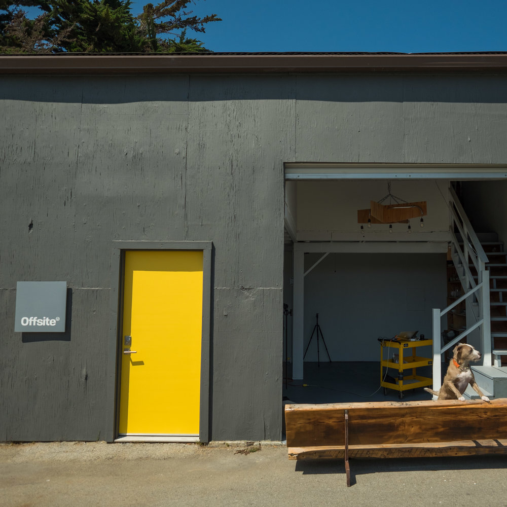 Easy Access - There aren't any tricky hallways or steps to access our studio floor. Simply roll up the 10ft overhead door and slide your equipment in right from the parking lot.