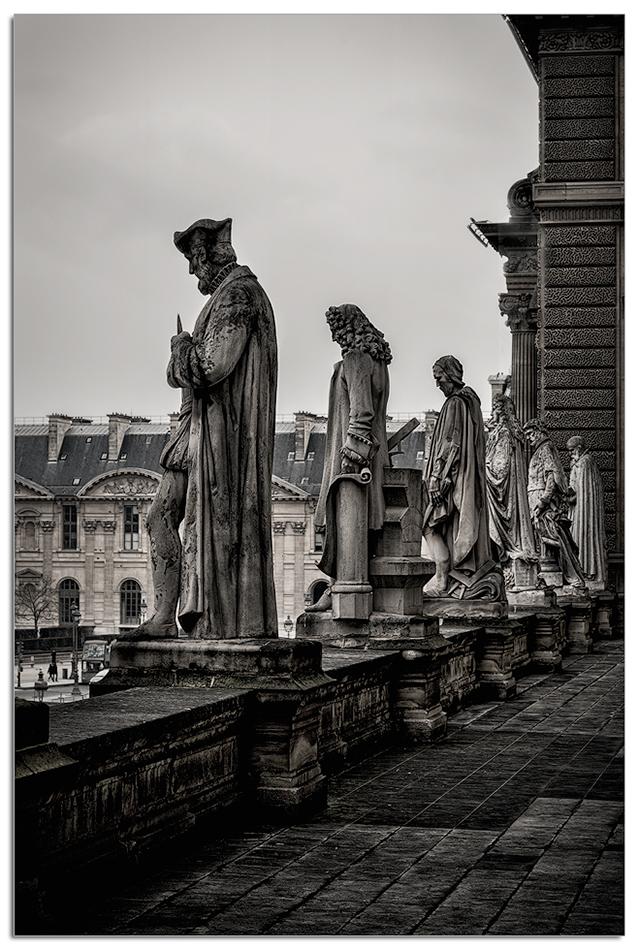 Balcony Sculptures