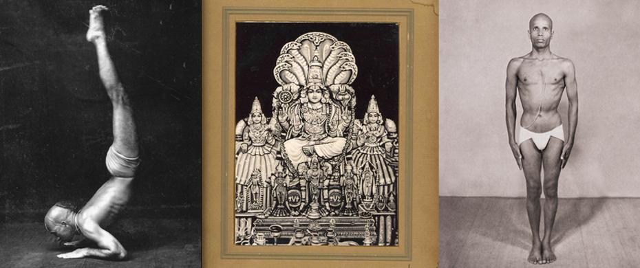 L'Ashtanga Vinyasa Yoga  est une série dynamique et progressive de postures, reliées entre elles par le souffle. Patthabi Jois, Patanjali, Krishnamacharya