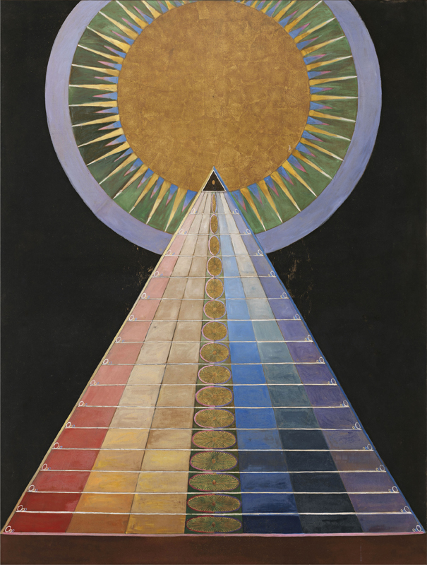 Hilma af Klint, Altarpiece No. 1, Group X, 1915