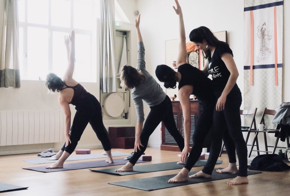 Private Yoga Classes at Mysore Yoga Paris Ashtanga Yoga Shala in Paris 11e