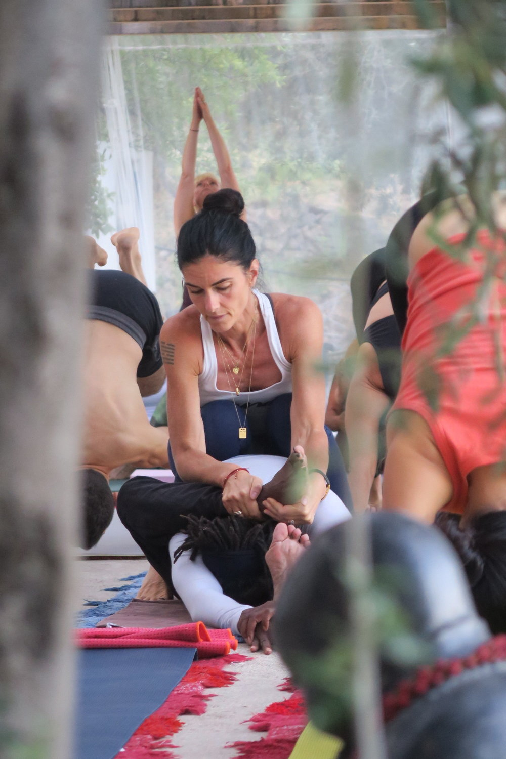 Ashtanga Yoga & Pranayama Retreat with Kia Naddermier in Spain 2016-2018