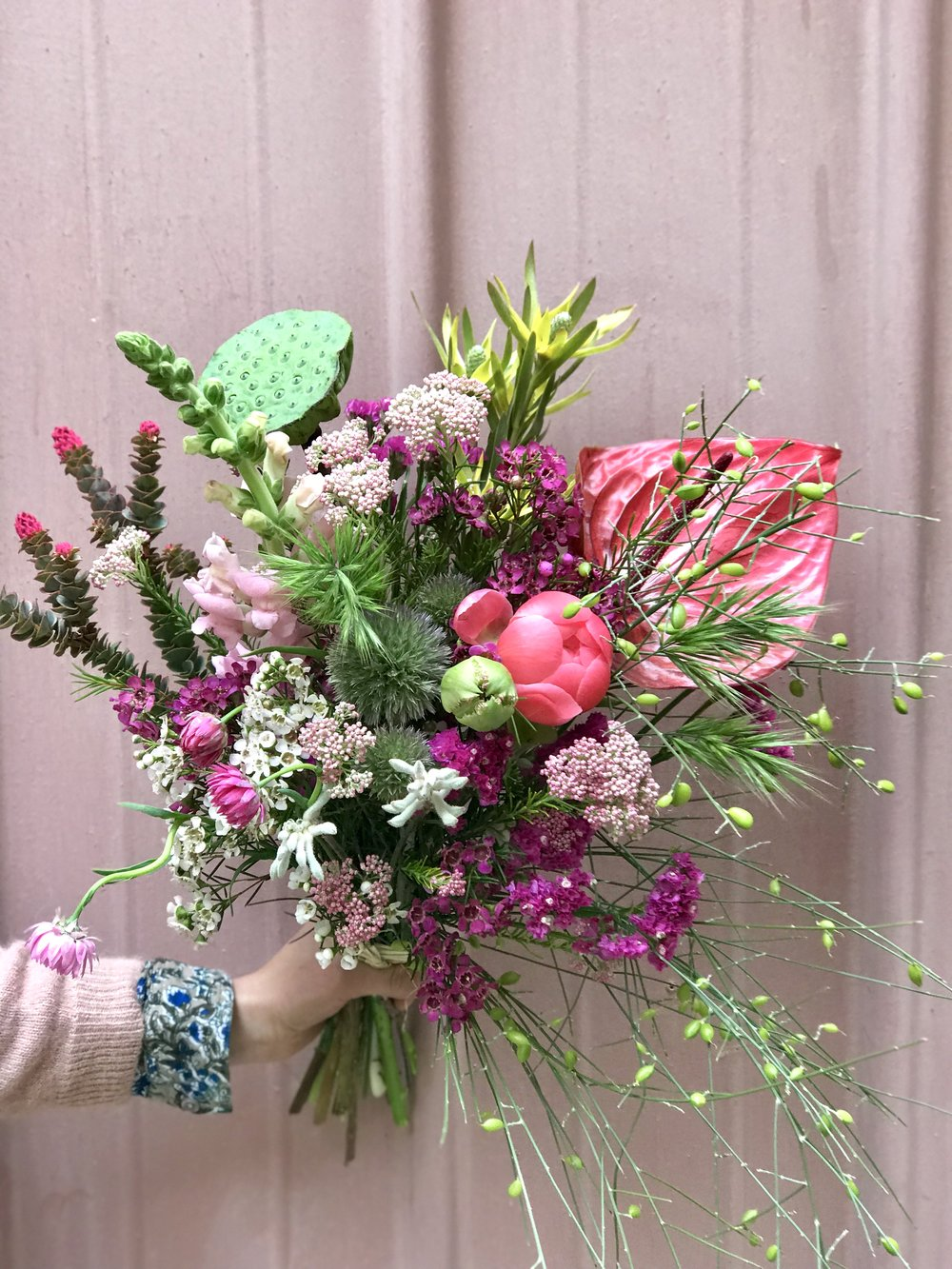 A  bouquet from Racine