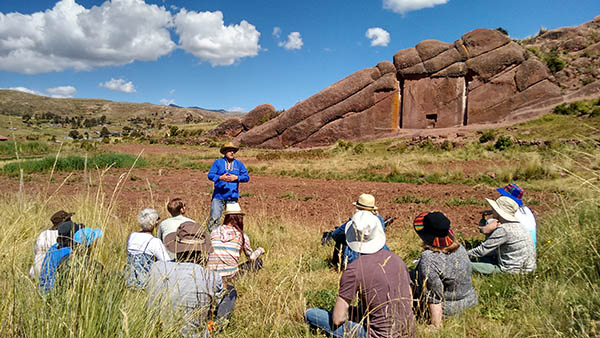 Saqsaywaman, a sacred Inca site, with our handpicked guides.