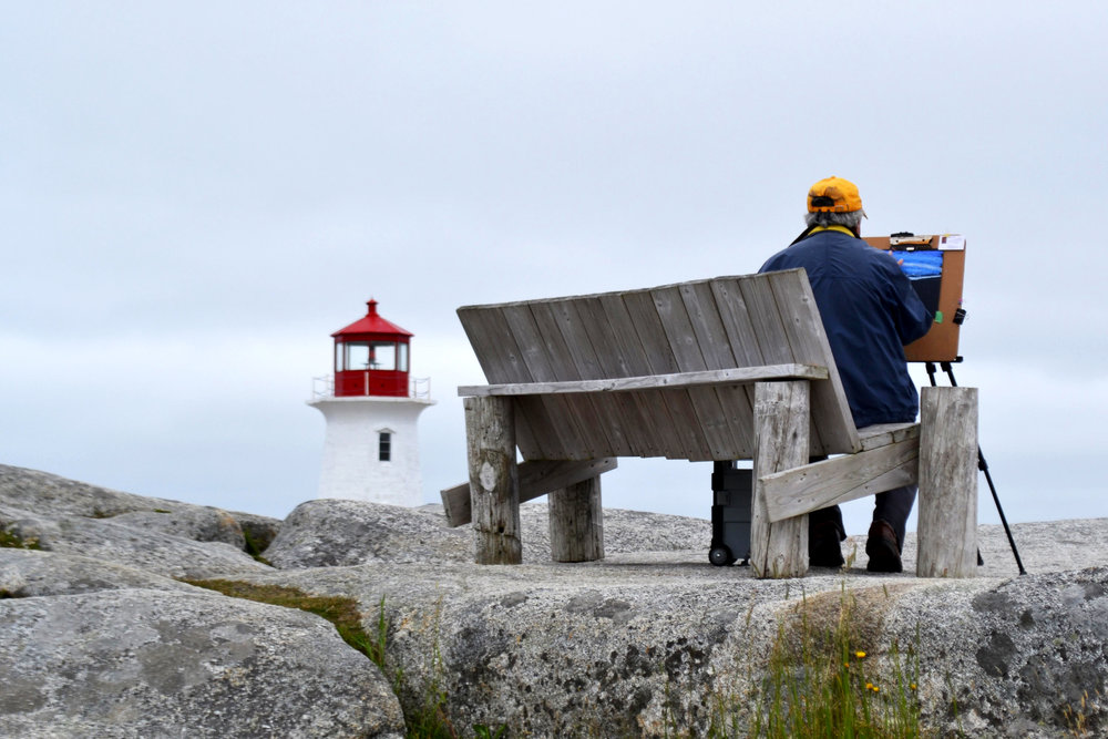 Paint Peggy's Cove, Peggy's Cove, NS