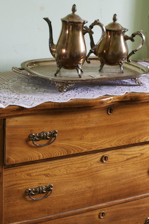 silver tea and coffee on dresser.jpg