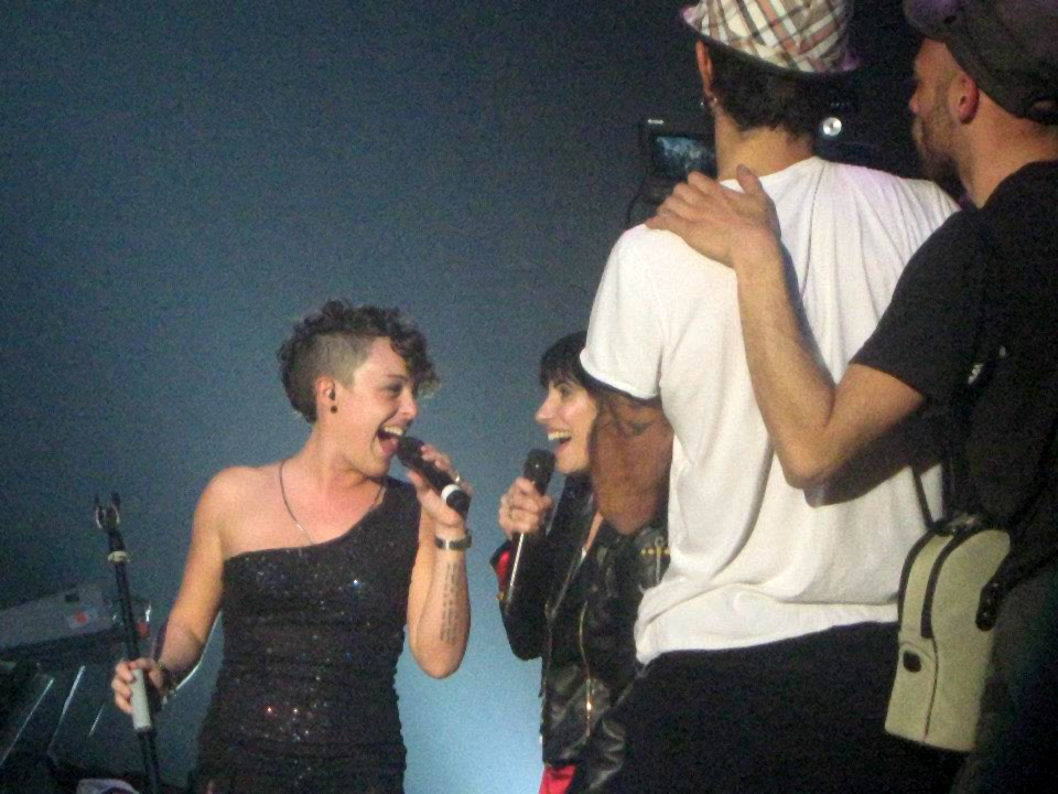 Giorgia - Music Video Backstage 2012