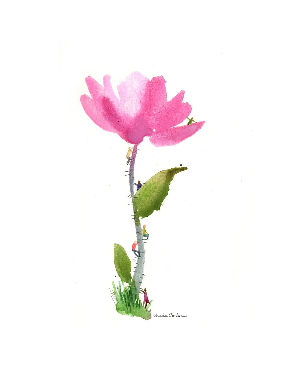 Tiny poeple on Flower_100_shop.jpg