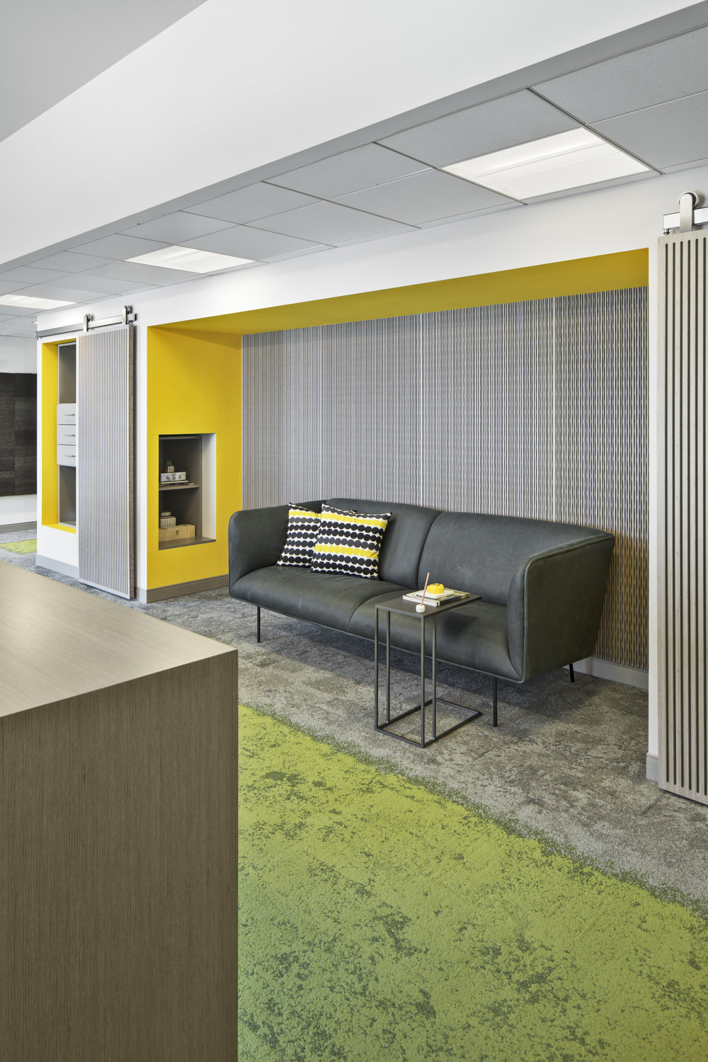Custom-Entry-Yellow-Wall-Built-In-Display-Grey-Couch-JMorrisDesign-Brooklyn-Interior-Designer.jpg