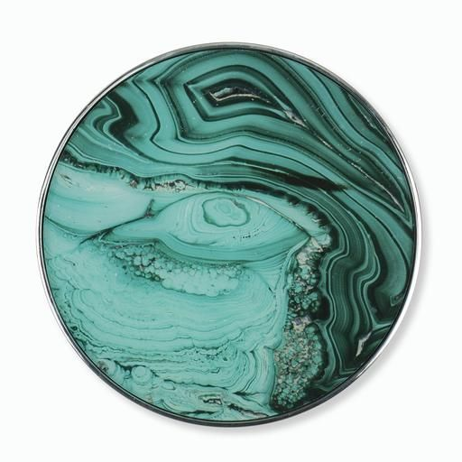 Jade-Malacite-Geode-Wall-Art-Round-Circular-Brooklyn-Condo.jpg