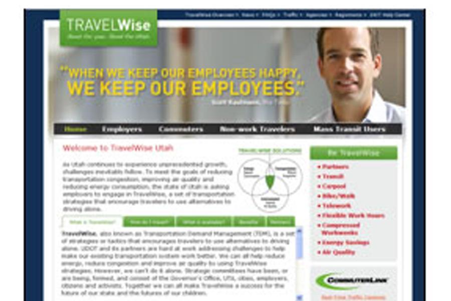 """Statewide Transportation Demand Management (TDM) Program """"Travelwise"""""""