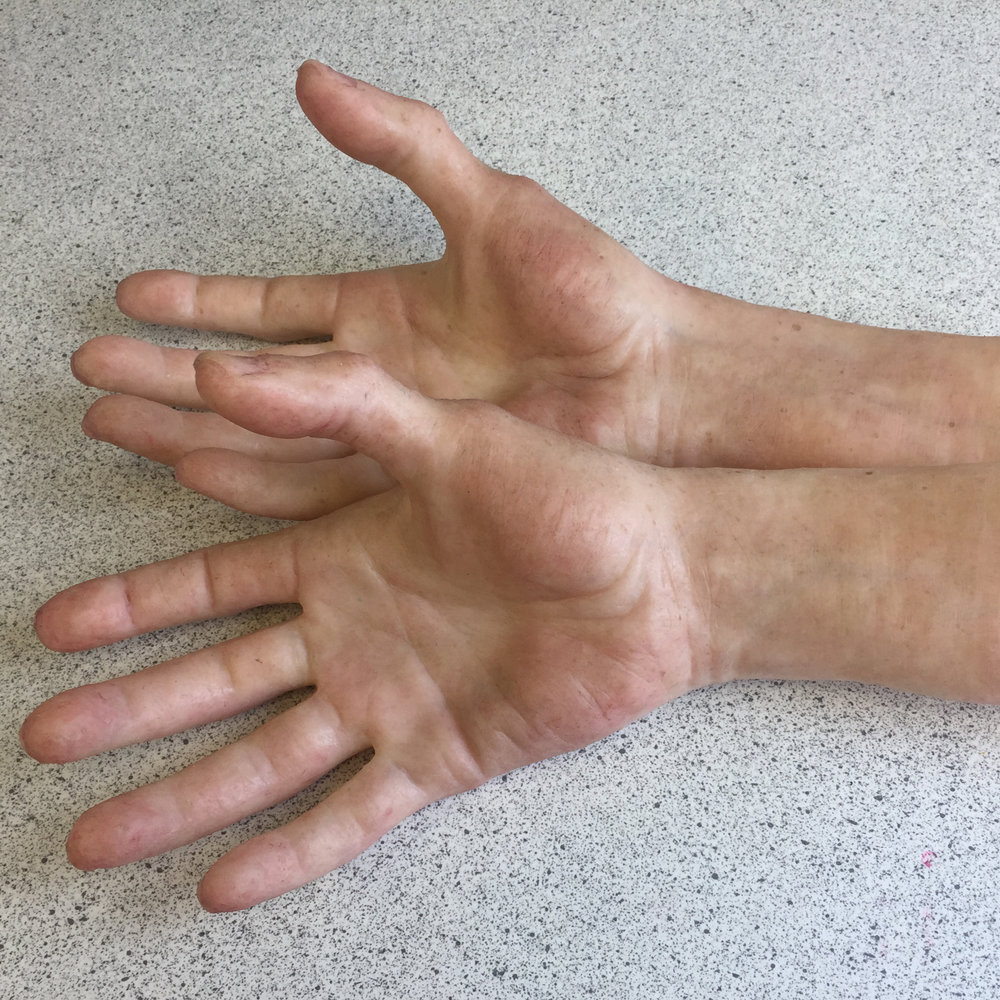 Realistic Silicone Fake Hands