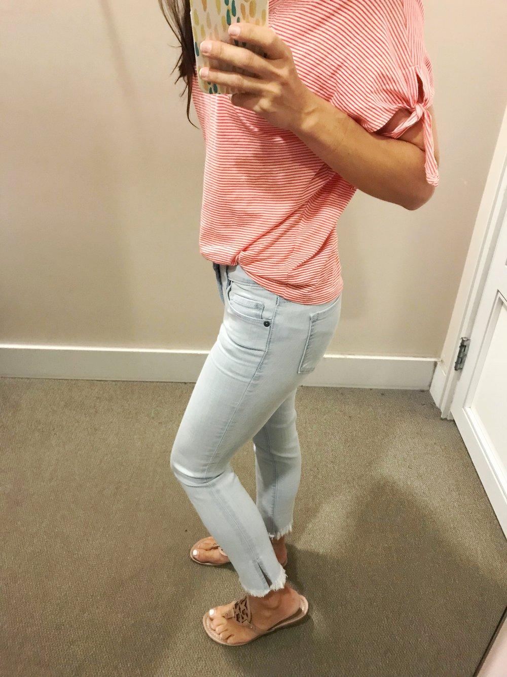 light wash jeans summer denim