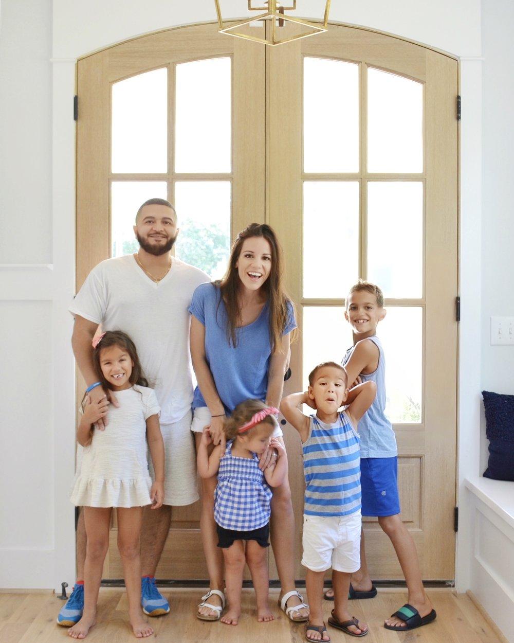 Chrissy Marie blog family