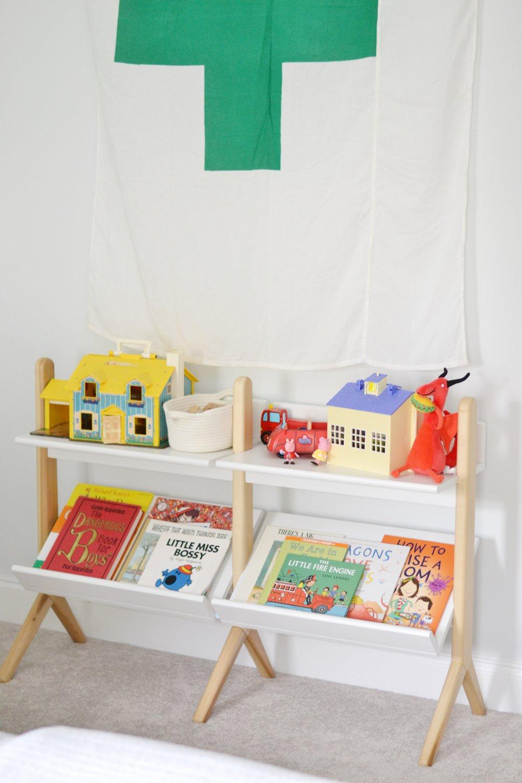 modern and playful boys room