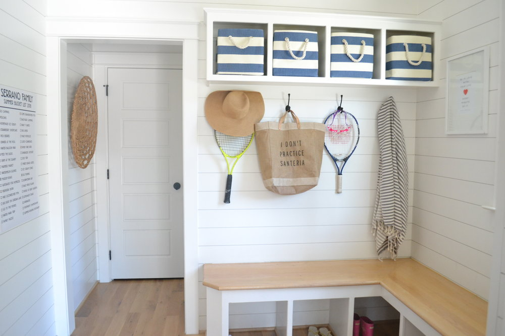 mudroom back to school