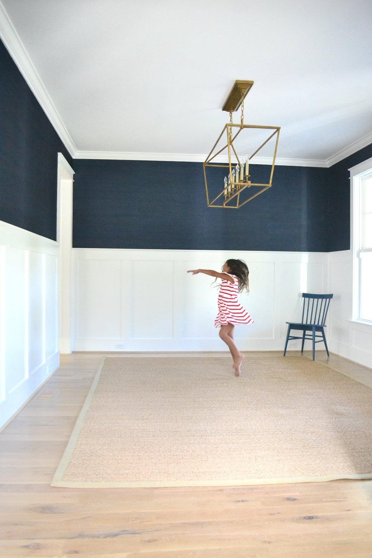 grasscloth wallpaper dining room