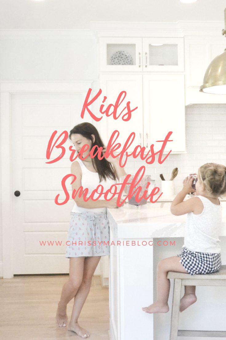 kids breakfast smoothie