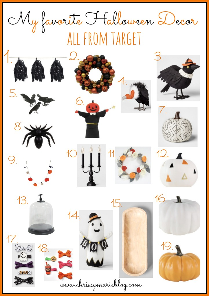 halloween decor from target