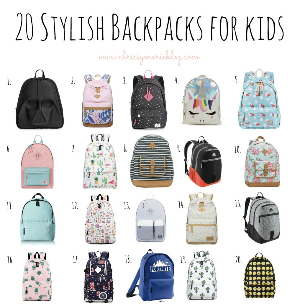 stylish backpacks for kids