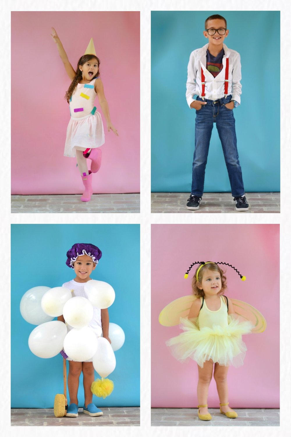 Quick and Creative Halloween Costumes for Kids Using What You Have