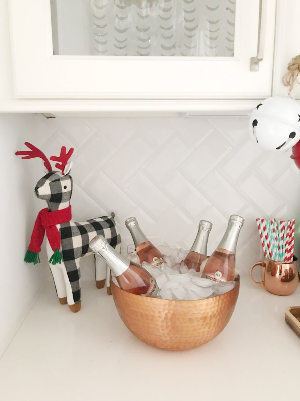 Styling Guide: Refreshing or Creating a Bar Area At The Holidays!