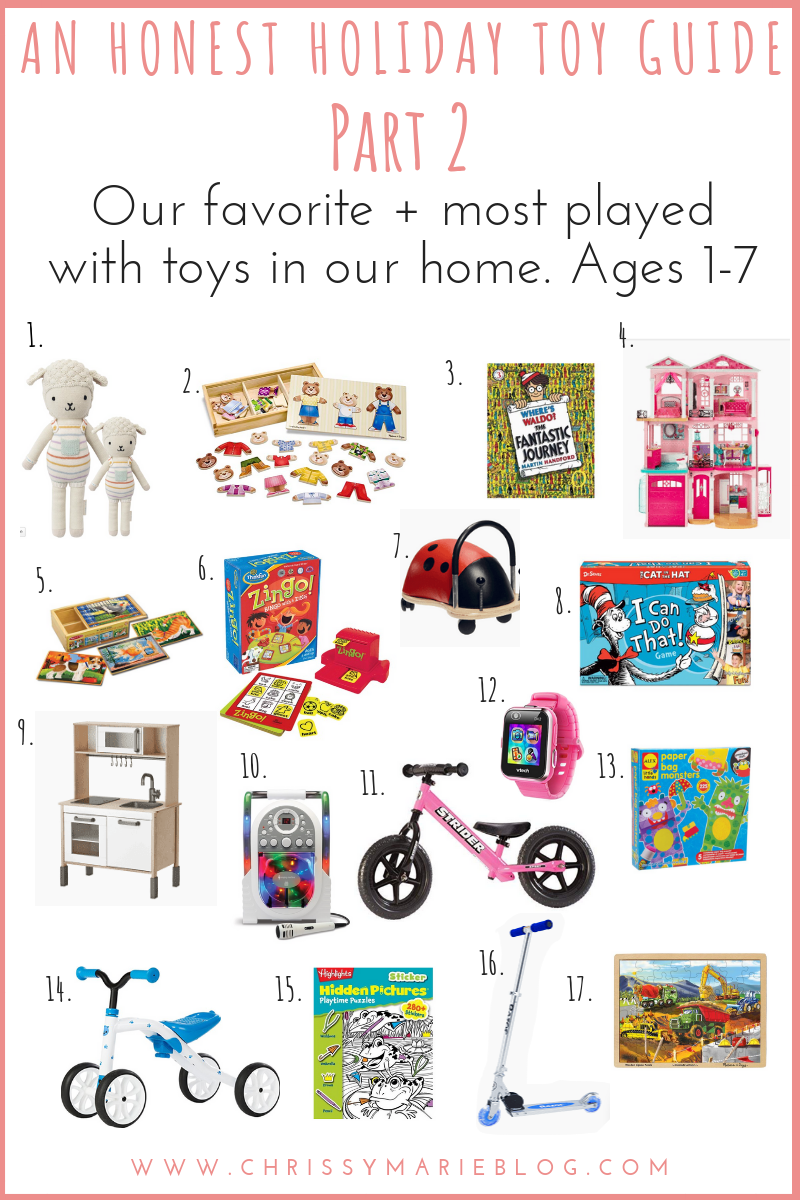 An Honest Holiday Toy Guide Of Our Most Played With Toys, Part 2!