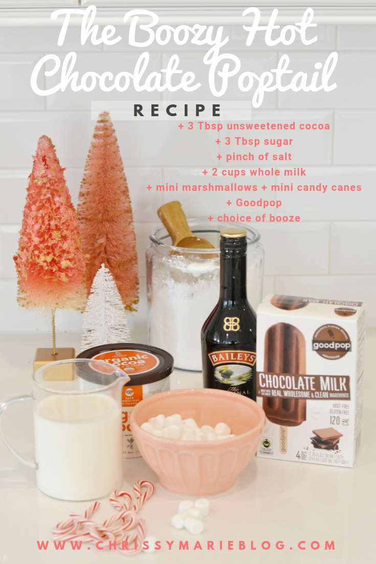 What Your Holiday Party is Missing: The Boozy Hot Chocolate Poptail Recipe!