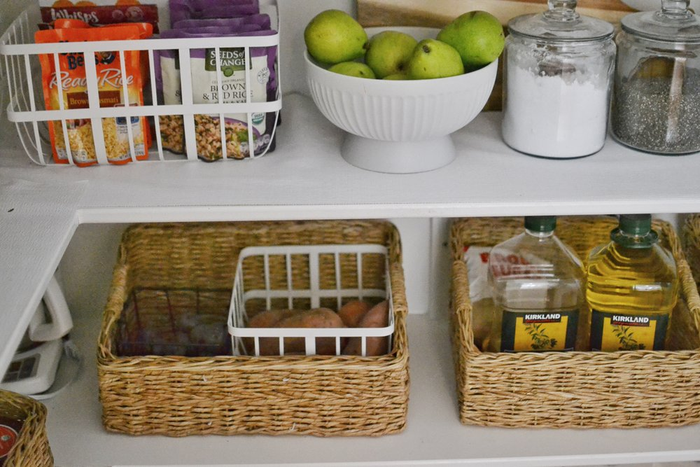 Our Home: The Pantry + How I Organized My Kitchen On a Budget