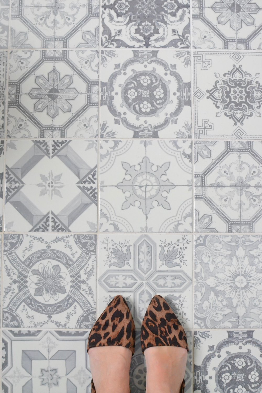 Bathroom Tile Floor