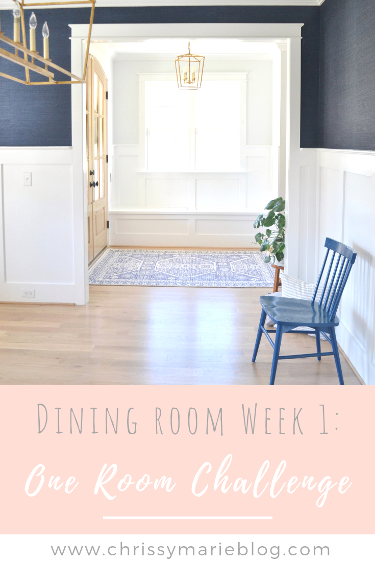 One Room Challenge Week 1: Planning The Dining Room