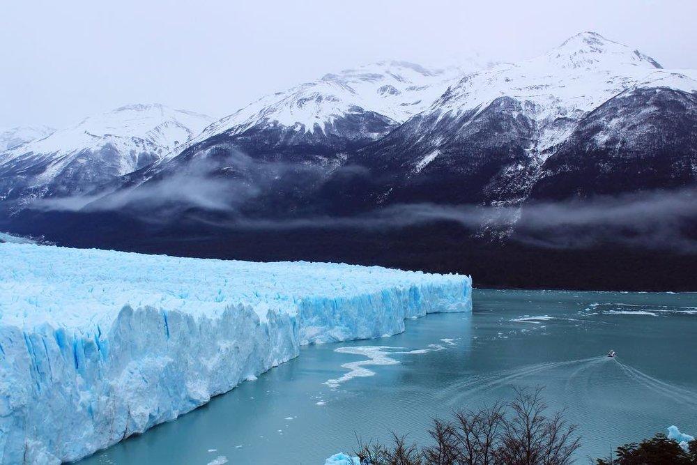 Pierto Moreno glacier in Patagonia, Argentina
