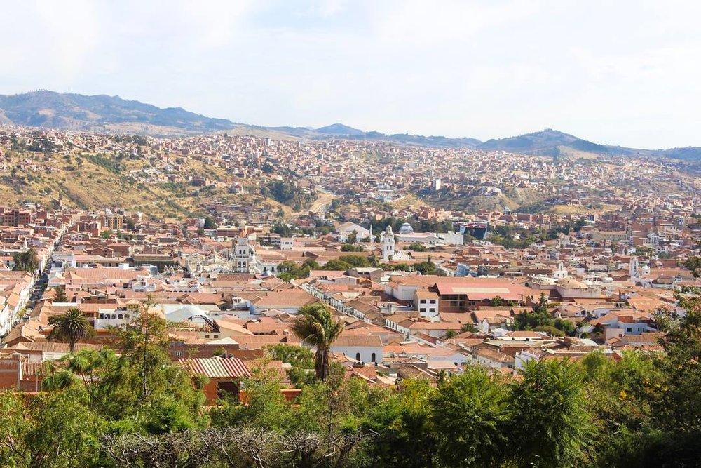 Travel blog city guide to Sucre, Bolivia