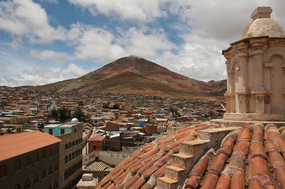 History and travel guide to Potosi, Bolivia