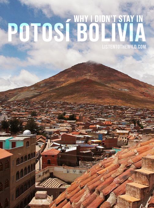 Travel blog guide to visiting Potosí Bolivia