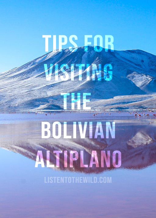 Travel blog guide to visiting the salt flats, laguna colorada and laguna verde in the altiplano, Bolivia