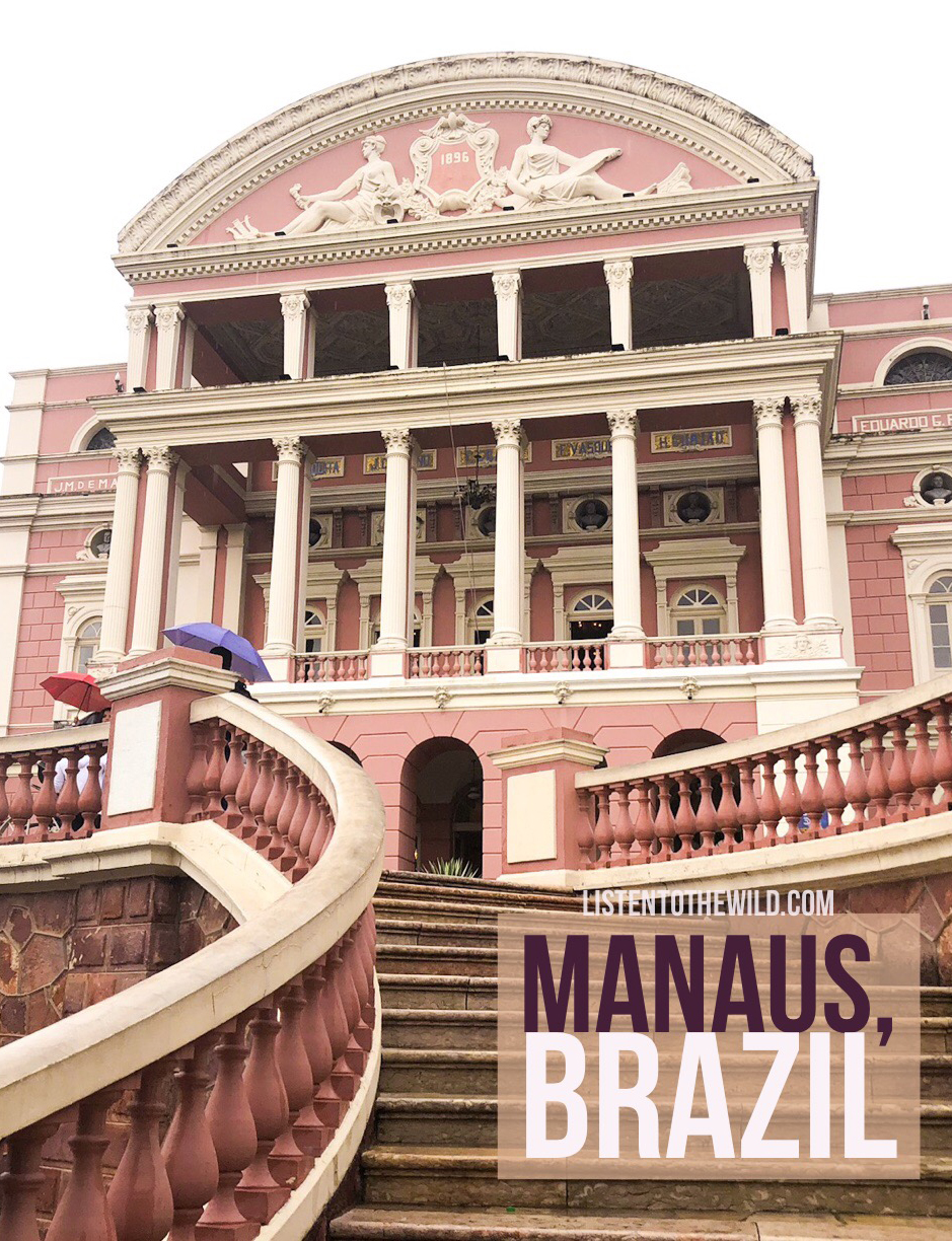 Travel blog city guide to Manaus Brazil, city in the Amazon