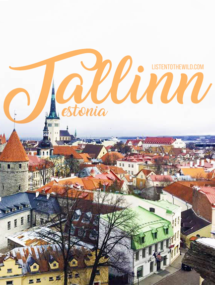 Travel blog city guide to Tallinn, Estonia