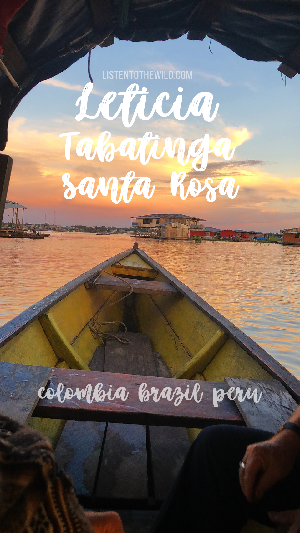 Travel blog guide to Leticia, Colombia, Tabatinga, Brazil and Santa Rosa, Peru