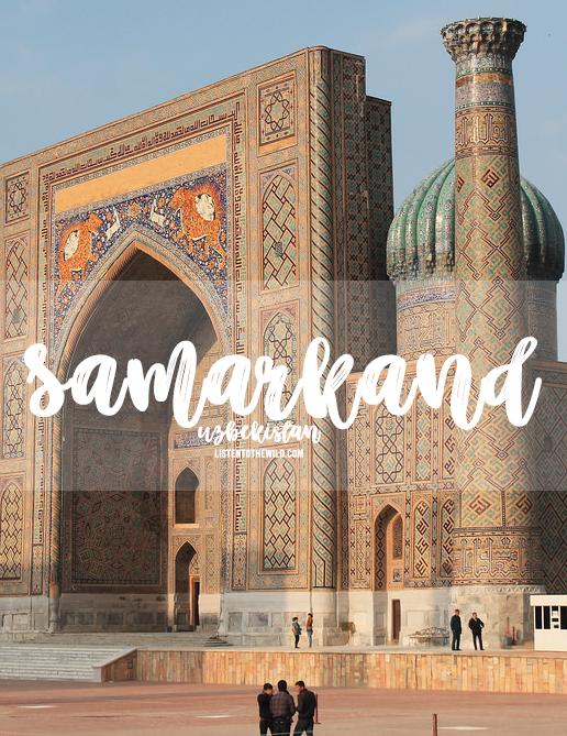 Travel blog city guide to Samarkand, Uzbekistan