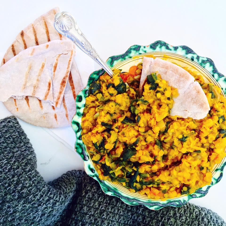 VEGAN INDIAN DAHL RECIPE WITH HEALING TURMERIC